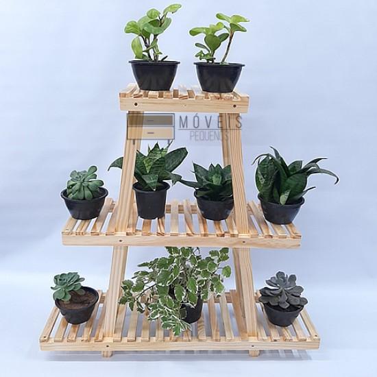 Estante para plantas de madeira  Modelo 28