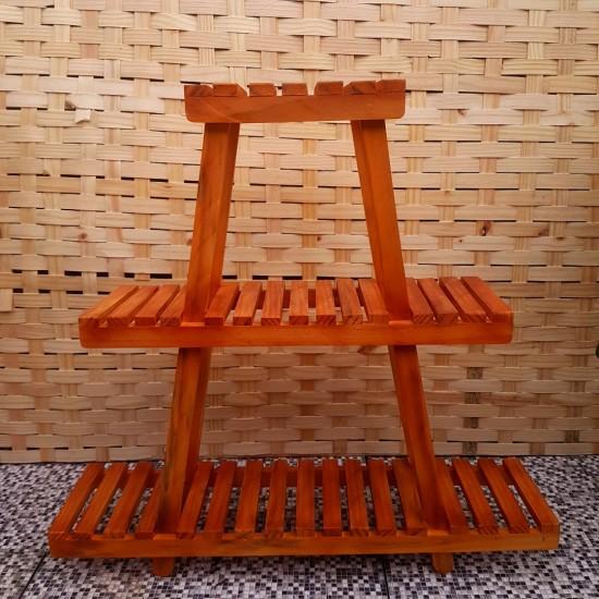 Expositor Para Plantas Modelo 28 cor Imbuia