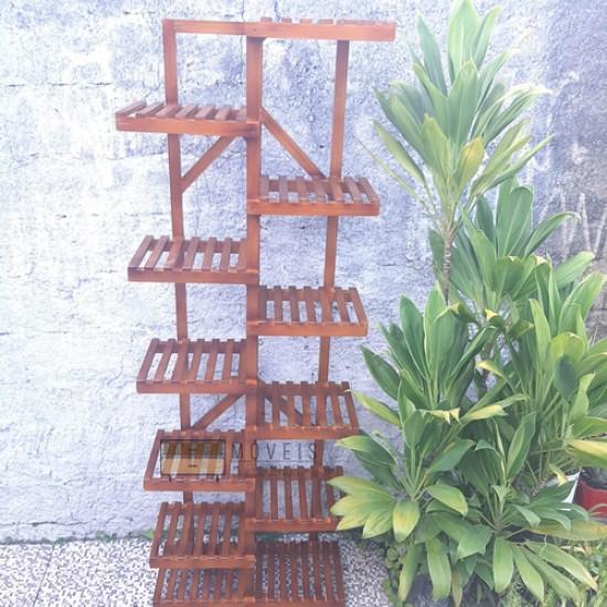 Estante  de plantas Modelo 44 cor imbuia