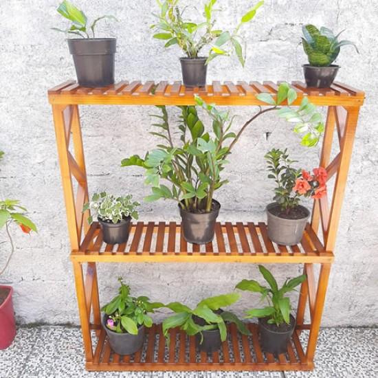 Estante para plantas jardim vertical modelo 71