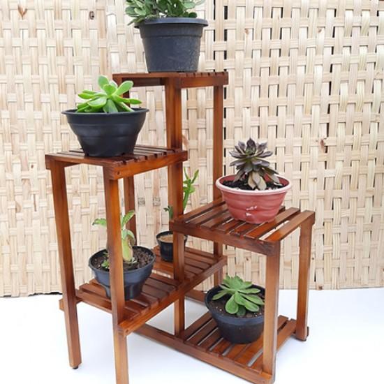 Floreira de   madeira modelo 15