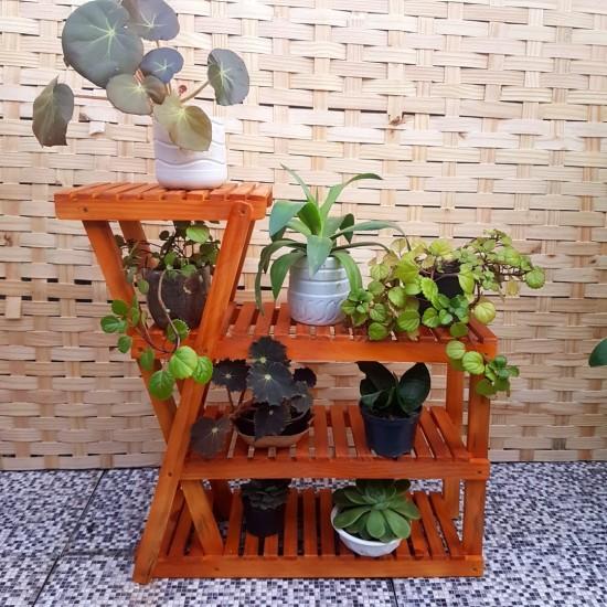 Expositor para Plantas modelo 27 cor Imbuia