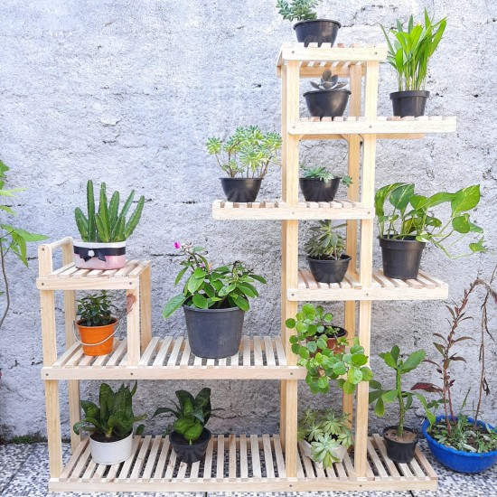 Estante para Plantas Modelo 50 cor natural
