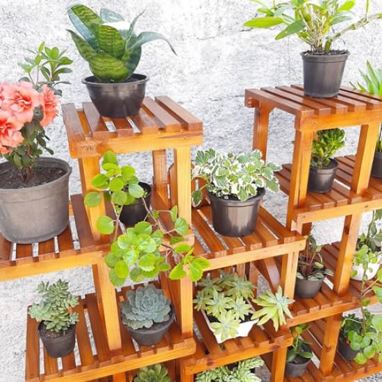 Expositor de plantas Modelo 72 jardim vertical