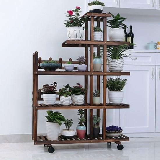 Floreira estante para plantas modelo 84