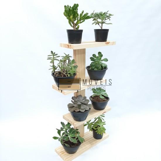 Prateleira para suculentas, flores e plantas 09