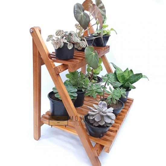Organizador e expositor de vasos de plantas e suculentas