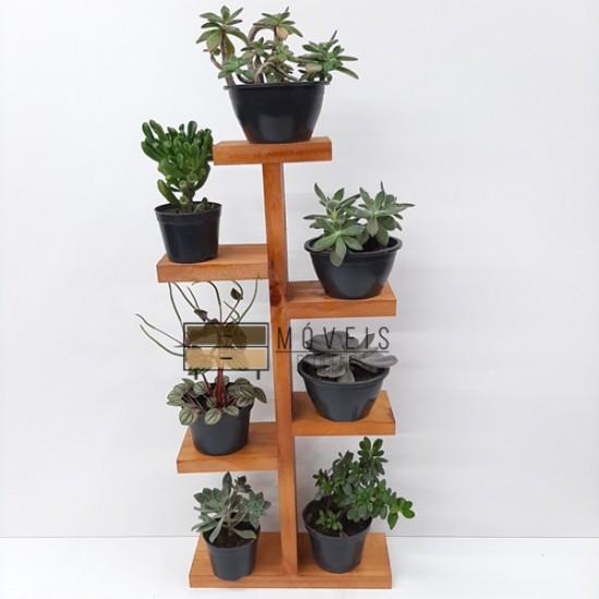 Prateleira para suculentas, flores e plantas 03