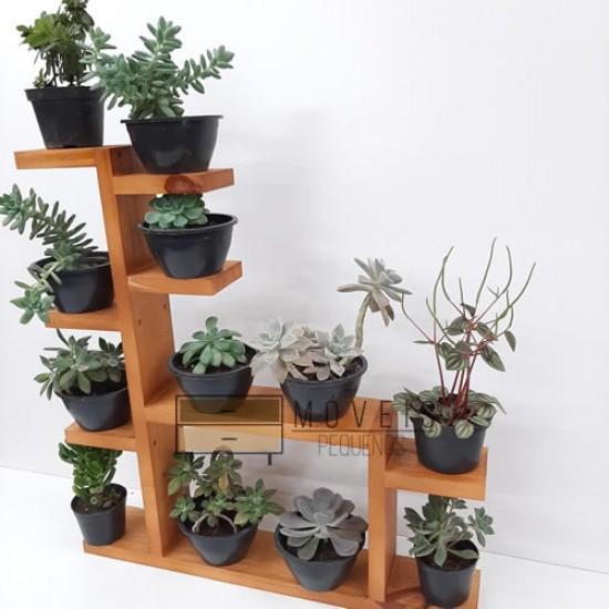 Prateleira para suculentas, flores e plantas 06