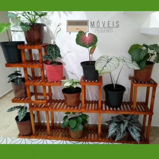 Suporte para Vasos e plantas madeira modelo 82